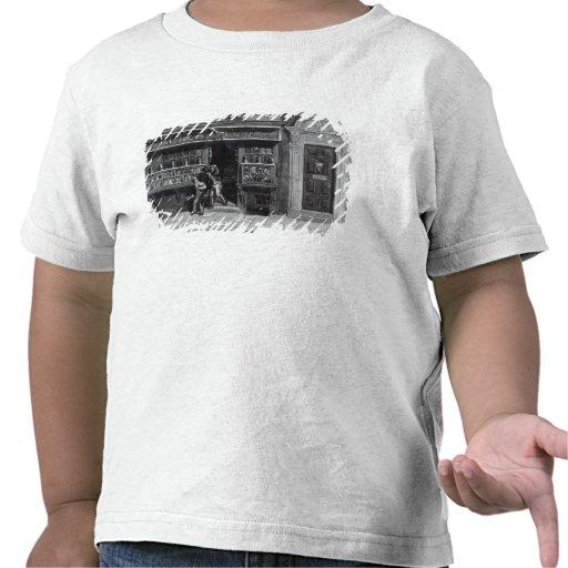 La tienda del Colourman, el carril de San Martín,  Camisetas