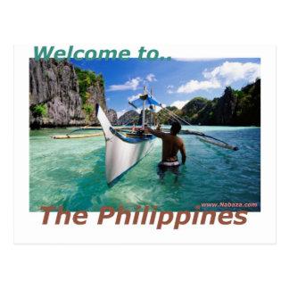 La tienda del recuerdo y de novedad de Filipinas Postales
