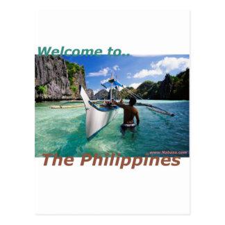 La tienda del recuerdo y de novedad de Filipinas Tarjetas Postales