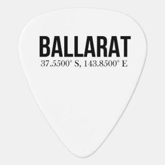 La tienda del turismo de Ballarat coordina la púa Plumilla De Guitarra