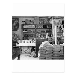 La tienda general, Moundville, Alabama: 1936 Postales