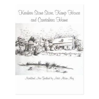La tienda, la casa de Kemp y los vigilantes de Postal