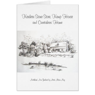 La tienda, la casa de Kemp y los vigilantes de Tarjeta De Felicitación