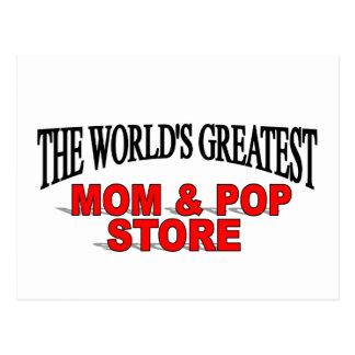 La tienda más grande de la mamá y del estallido de tarjeta postal