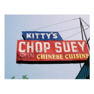 La tienda Suey del gatito Postales