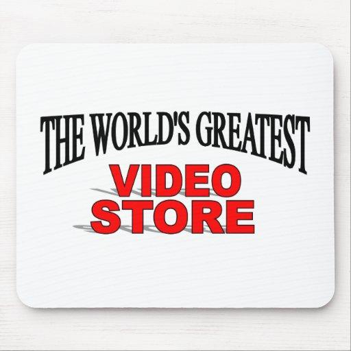 La tienda video más grande del mundo alfombrillas de ratones