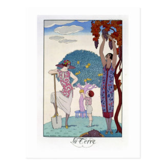 La tierra, 1925 (litho del color) postales
