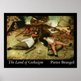 La tierra de Cockaigne - 1567 Poster