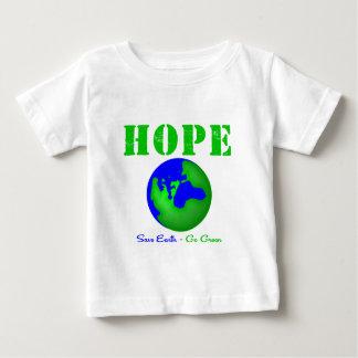 La tierra de la reserva de la esperanza va verde playeras
