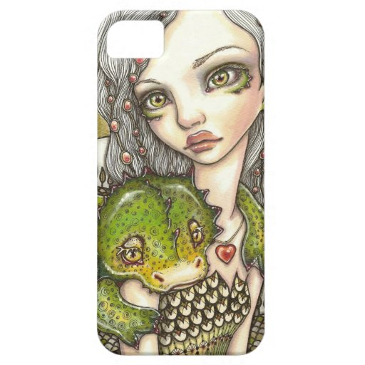 La tierra de los dragones iPhone 5 Case-Mate cárcasa