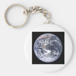""""""""""" La tierra de mármol azul parece de Apolo 17 Llavero Personalizado"""