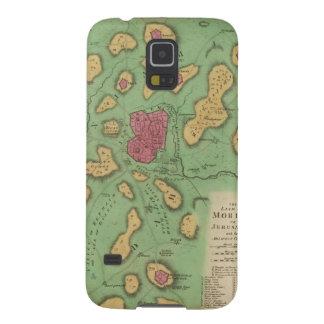 La tierra de Moriah o de Jerusalén Fundas Para Galaxy S5