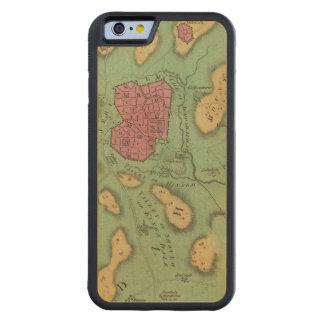 La tierra de Moriah o de Jerusalén Funda De iPhone 6 Bumper Arce