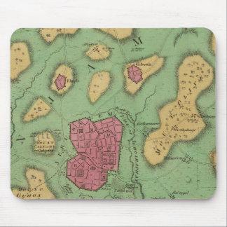La tierra de Moriah o de Jerusalén Mouse Pad