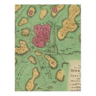 La tierra de Moriah o de Jerusalén Postal