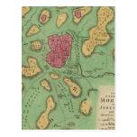La tierra de Moriah o de Jerusalén Tarjetas Postales
