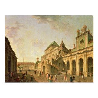 La tierra del boyardo en la Moscú el Kremlin, 1801 Postal