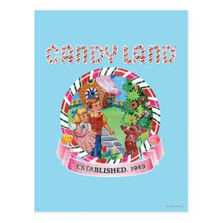 La tierra del caramelo estableció 1945 tarjetas postales