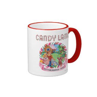 La tierra del caramelo estableció 1945 taza de dos colores