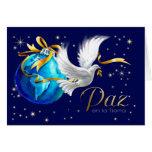La Tierra del en de Paz. Tarjetas de Navidad