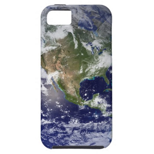 La tierra del espacio iPhone 5 Case-Mate cárcasas