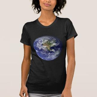 La tierra del espacio camisetas