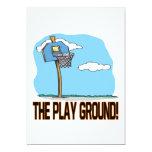La tierra del juego invitación 12,7 x 17,8 cm