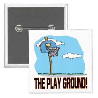 La tierra del juego pin