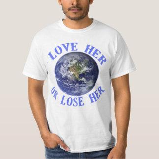 La tierra del planeta, la ama o pierde sus playeras