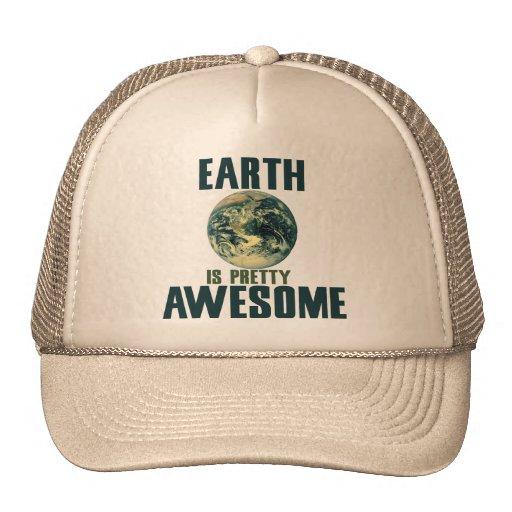 La tierra es bonito impresionante gorras