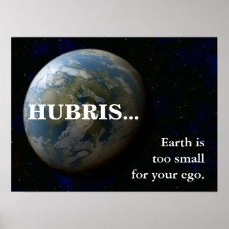 La tierra es demasiado pequeña para su ego 3 póster
