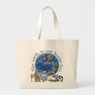 La tierra es la nuestra bolsa de asas de la ecolog