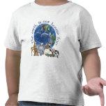 La tierra es nuestra camiseta del niño de la casa