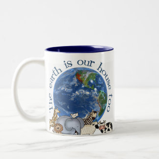 La tierra es nuestra taza de la ecología de la