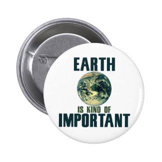 La tierra es un poco importante pin