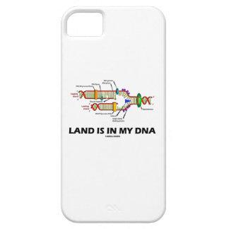 La tierra está en mi DNA (la réplica de la DNA) iPhone 5 Carcasa