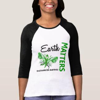 La tierra importa conciencia ambiental de la playera