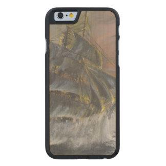 La tierra Nova dirige en un amanecer feroz del Funda De iPhone 6 Carved® Slim De Arce