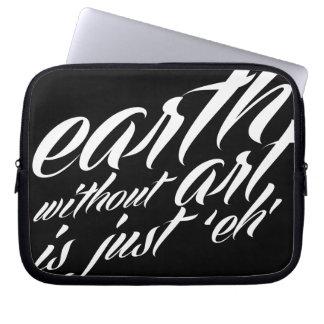 la tierra sin arte es apenas 'eh manga computadora