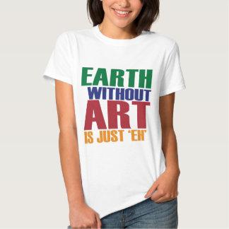 La tierra sin arte está apenas Eh Poleras