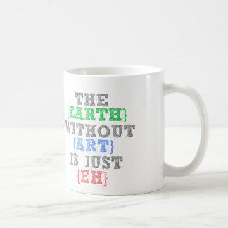 La tierra sin arte está apenas Eh Tazas De Café