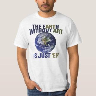 La tierra sin arte remera