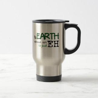 La tierra sin arte taza