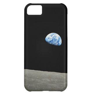 La tierra sube de la luna funda para iPhone 5C