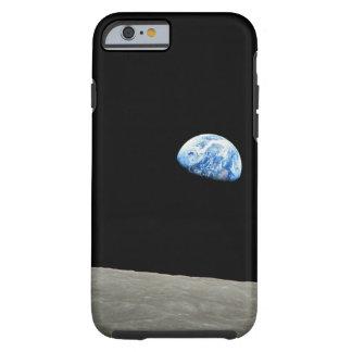 La tierra sube de la luna funda para iPhone 6 tough