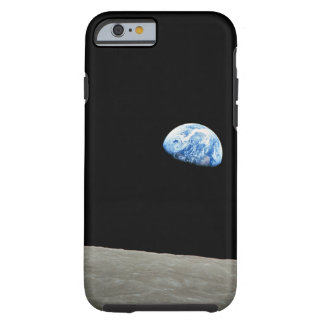 La tierra sube de la luna funda resistente iPhone 6