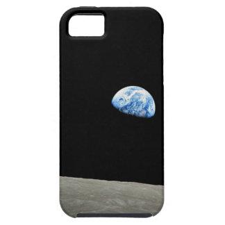 La tierra sube de la luna iPhone 5 carcasa