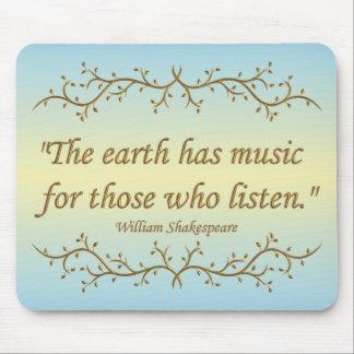 La tierra tiene música Mousepad