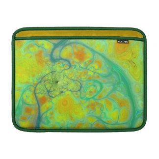 La tierra verde - mareas del trullo y del oro funda  MacBook