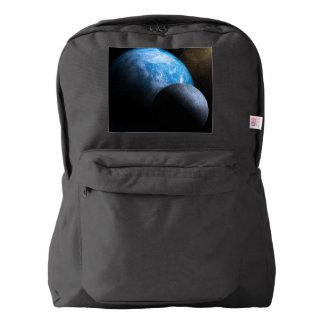 La tierra y la luna mochila